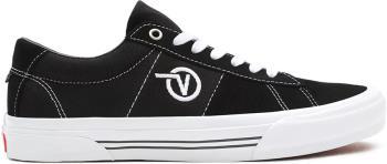 Vans Skate Sid Trainers/Shoes, UK 12 Black/White
