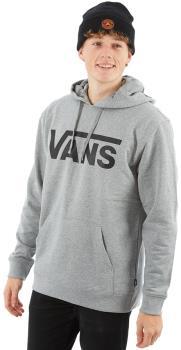Vans Classic Pullover Hoodie Mens Sweatshirt XL Cement Heather/Black