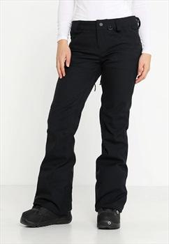 Volcom Species Stretch Womens Snowboard/Ski Pants, UK 10 Black