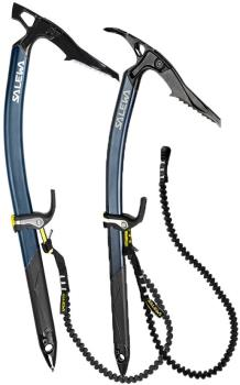 Salewa : North-X Ice Axe Pair Package Deal, Two Axes Night