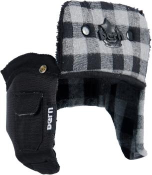 Bern Men's Winter Helmet Liner XXL/XXXL GreyBuffalo Hard Hat