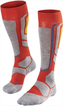 Falke SB2 Merino Wool Women's Snowboard Socks, UK 2.5-3.5 Verbania