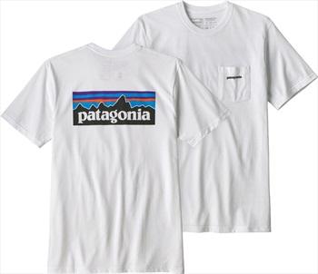 Patagonia P-6 Logo Pocket Responsibili-tee T-Shirt S White