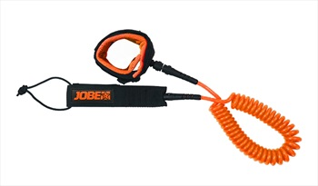 Jobe Coiled Leash For SUP, 10 Ft Black Orange 2021