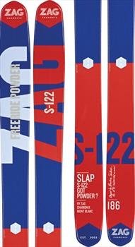 ZAG S-122 Skis, 193cm Blue/Red 2018