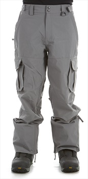 Sessions Adult Unisex Squadron Ski/Snowboard Pants, M Gunmetal