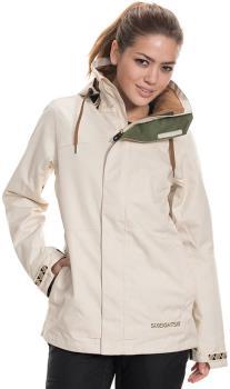 686 Smarty 3-in-1 Spellbound Womens Snowboard/Ski Jacket, XS Bone