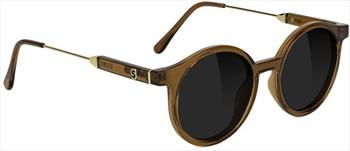 Glassy Sunhaters Robyn Premium Black Polarized Sunglasses, Coffee