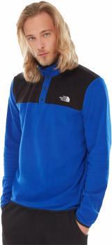 The North Face Adult Unisex Tka Glacier Snap-Neck Pullover Fleece, L Bolt Blue