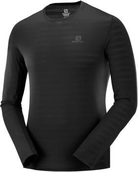 Salomon XA Long Sleeve Top Running T-shirt, M Black