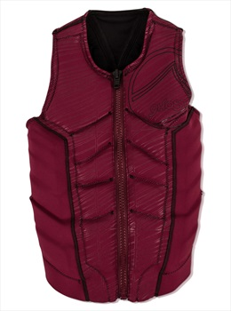 Liquid Force Ghost Comp Ladies Wakeboard Impact Vest, XS Wine