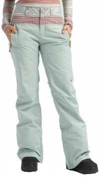 Burton Womens Duffey Gore-Tex Women's Snowboard Pants Trousers, S Aqua Grey