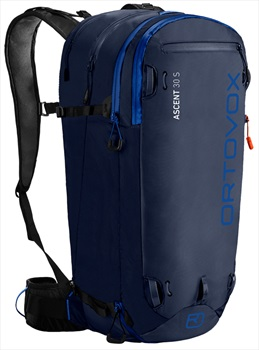 Ortovox Adult Unisex Ascent 30s Ski/Snowboard Backpack/Rucksack, 30l Dark Navy