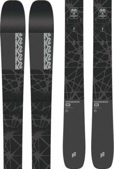 K2 Mindbender 99Ti Skis, 184cm Black/Grey, Ski Only, 2022