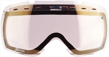 Smith Heiress Snowboard/Ski Goggle Spare Lens, Gold Sensor Mirror