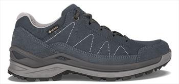 Lowa Toro Evo GTX Lo Women's Hiking Boots, UK 7.5 Navy/Grey