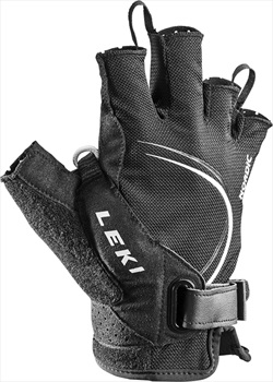 Leki Nordic Lite Shark Short Nordic/Trekking Pole Gloves, XXL Black