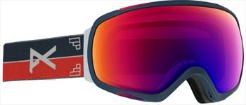 Anon Tempest Sonar IR Blue Women's Ski/Snowboard Goggles, S/M Horizon