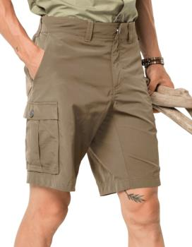 "Jack Wolfskin Canyon Cargo Outdoor Hiking Shorts, 32"" Sand Dune"