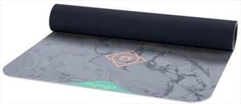 Myga Vegan Suede Rubber Yoga/Pilates Mat, 3mm Chakra