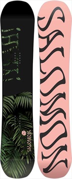 Salomon Oh Yeah Women's Hybrid Camber Snowboard, 138cm 2020