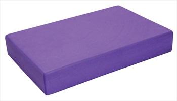 Yoga Mad Full Yoga/Pilates Block, 30.5cm X 20.5cm X 5cm Purple