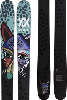 Volkl Revolt 104 Ski Only Skis, 180cm Teal 2022