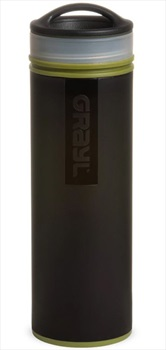 Grayl Ultralight Water Purifier & Travel Filter Bottle, Camo Black