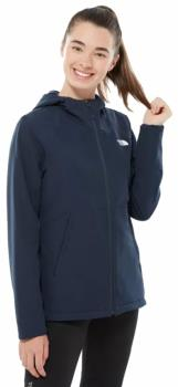 The North Face Shelbe Raschel Hoodie Women's Fleece Jacket, L Navy