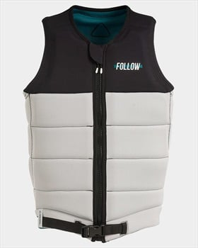 Follow Axe Pro Fit 2 Wakeboard Impact Vest, XL White Blue