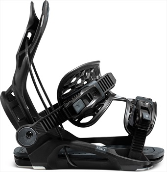 Flow Fenix Fusion Step In Snowboard Bindings, L Black 2021