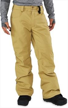 Dakine Artillery 2-Layer Insulated Ski/Snowboard Pants, S Fennel