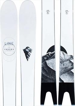 LINE Sakana Ski Only Skis, 174cm Black/White 2021