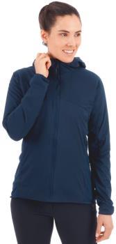 Mammut Womens Rime Light Flex Hooded Insulated Jacket, L Peacoat