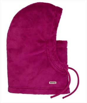 Burton Cora Women's Shag Fleece Hood, Under Helmet Fit Hibiscus Pink