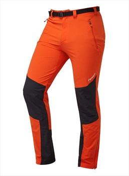 Montane Alpine Stretch Softshell Climbing Trousers XL Orange