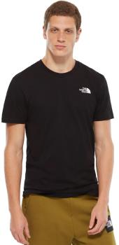 The North Face Simple Dome Men's Short Sleeve T-Shirt, L TNF Black