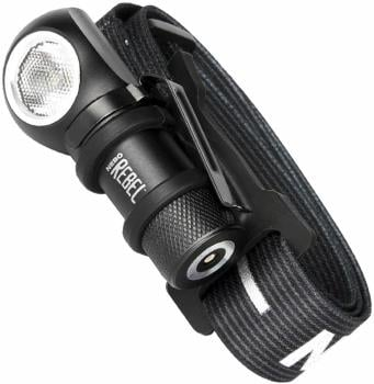 Nebo Rebel Headlamp Rechargeable Torch, 600lm Black