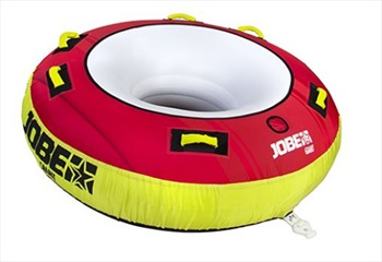 Jobe Giant Towable Inflatable Tube 3 Rider Red