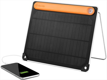BioLite SolarPanel 5+ Portable Solar Device Charger, 3200mAh