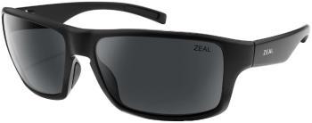 Zeal Incline Ellume Polarized Dark Grey Sunglasses, Matte Black