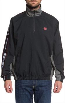 DC Astrak Packable Track Jacket, M Black