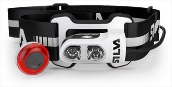SILVA Trail Runner 4 Ultra IPX5 Running Headlamp, 350 Lumens Black