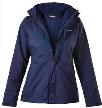 Berghaus Calisto Alpha 3in1 Women's Waterproof Jacket, UK 18 Blue