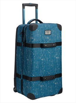 Burton Split Roller Wheelie Double Deck Luggage, 86L Blue Sapphire