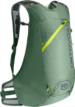 Ortovox Trace 20 Ski Touring Backpack, 20L Green Isar