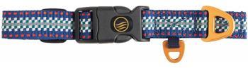 United By Blue Woven Dog Collar Webbing Pet Collar Reflector Stripe