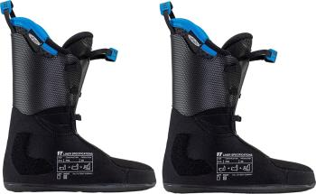 Full Tilt Ski Boot Pro Tongue Liner Spare Part, 25/25.5 Black