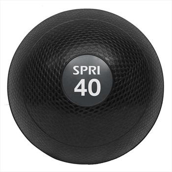SPRI Dead Weight Gym Slam Ball, 18.1 KG Black/Grey