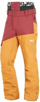 Picture Panel Ski/Snowboard Pants, S Ketchup/Camel